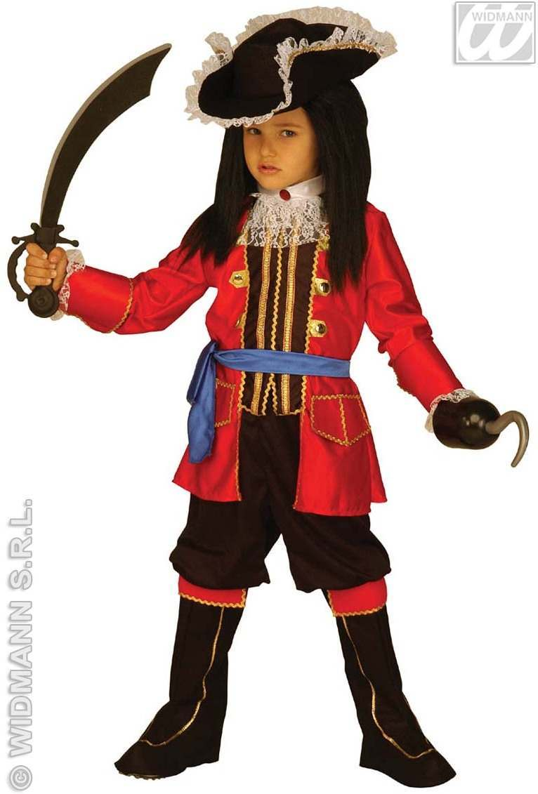 Buy Pirate Captain Costume Child Fancy Dress Costume
