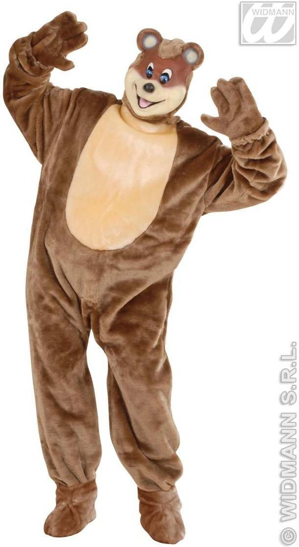 Bear costume for adults