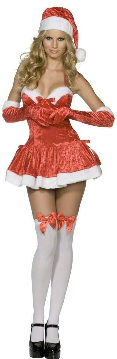 More Views. Fever Naughty Miss Santa Fancy Dress Costume ...  sc 1 st  Fun Fancy Dress & Fever Naughty Miss Santa Fancy Dress Costume Ladies (Sexy)