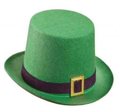 Felt Green Irish St. Patrick'S Top Hat