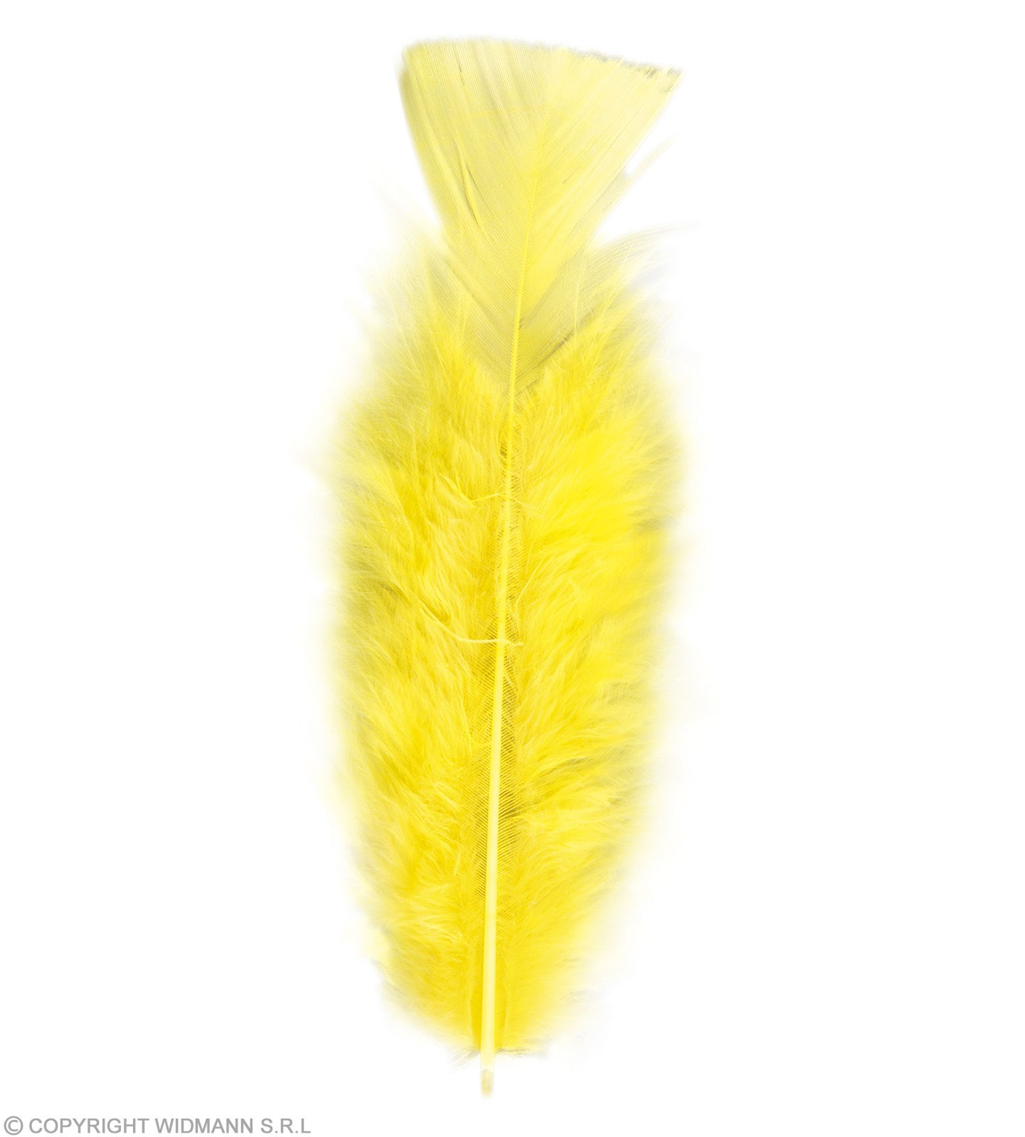 Bag Of Feathers Yellow - Fancy Dress