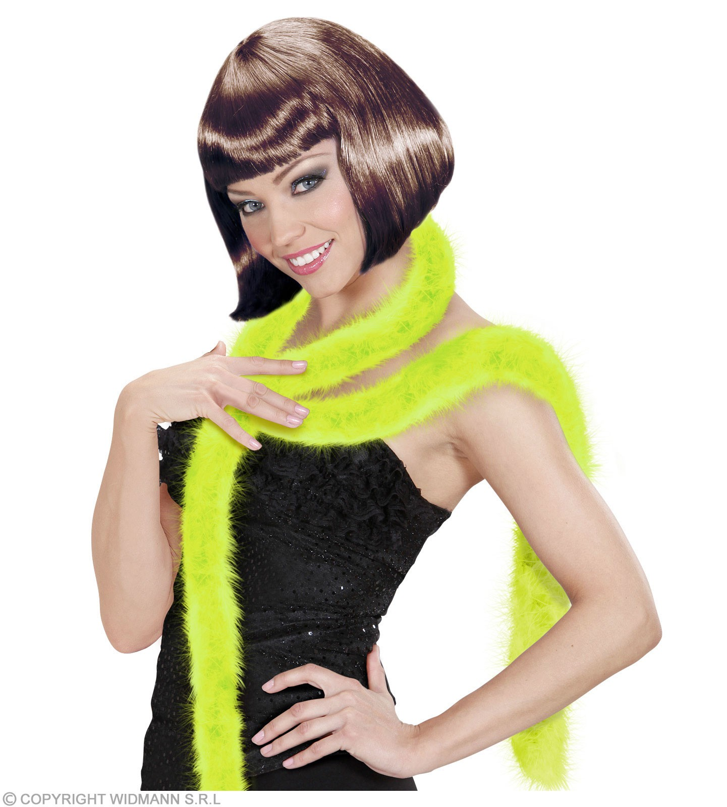 Decorative Marabou 2M - Green Fancy Dress