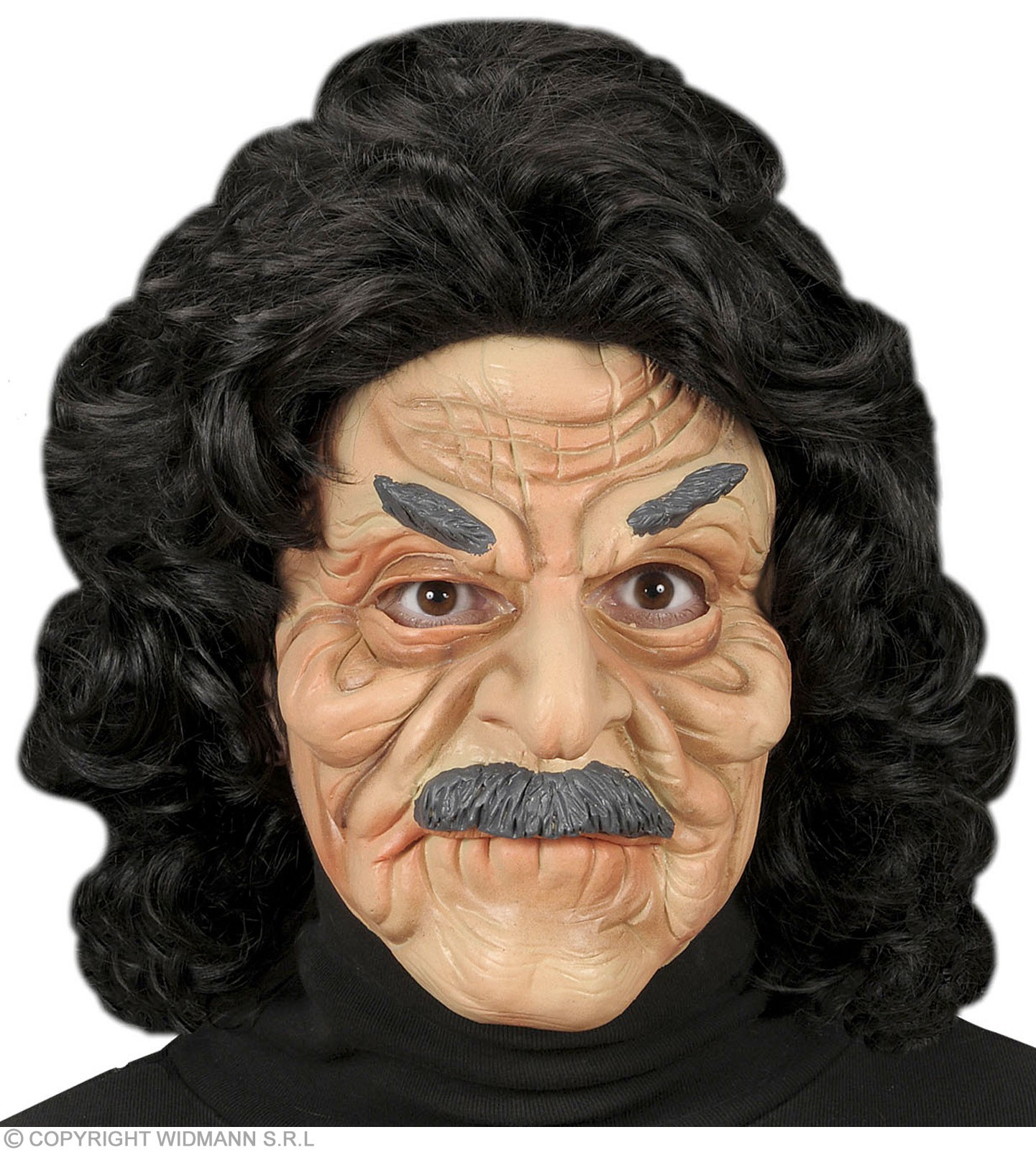 Half - Face Mask - Old Man - Fancy Dress