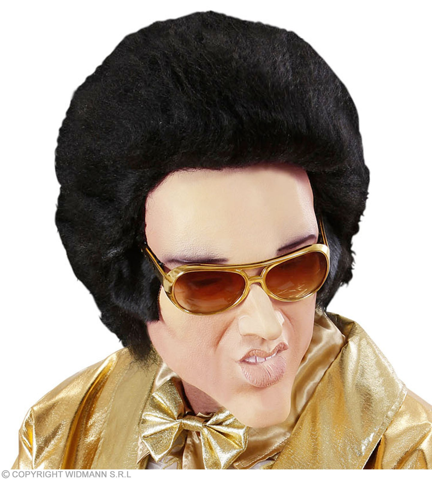 Foam Latex Masks - King Of Rock & Roll - Fancy Dress