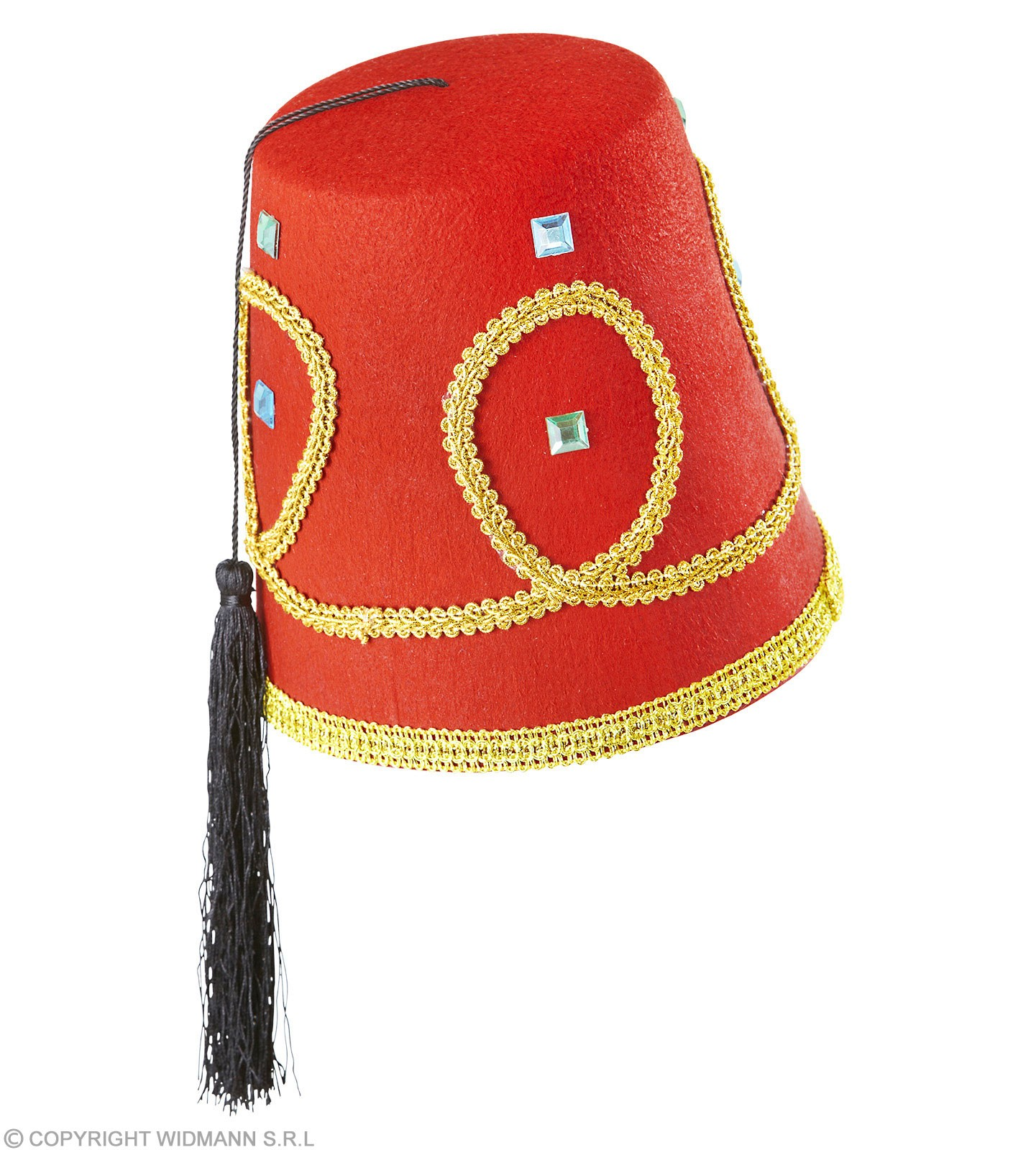 65aac6f98d1093 Buy Boys Fez Hat Deluxe Felt Hats - (Red) - Largest online fancy dress range  in the UK - Price Guarantee & FREE Delivery