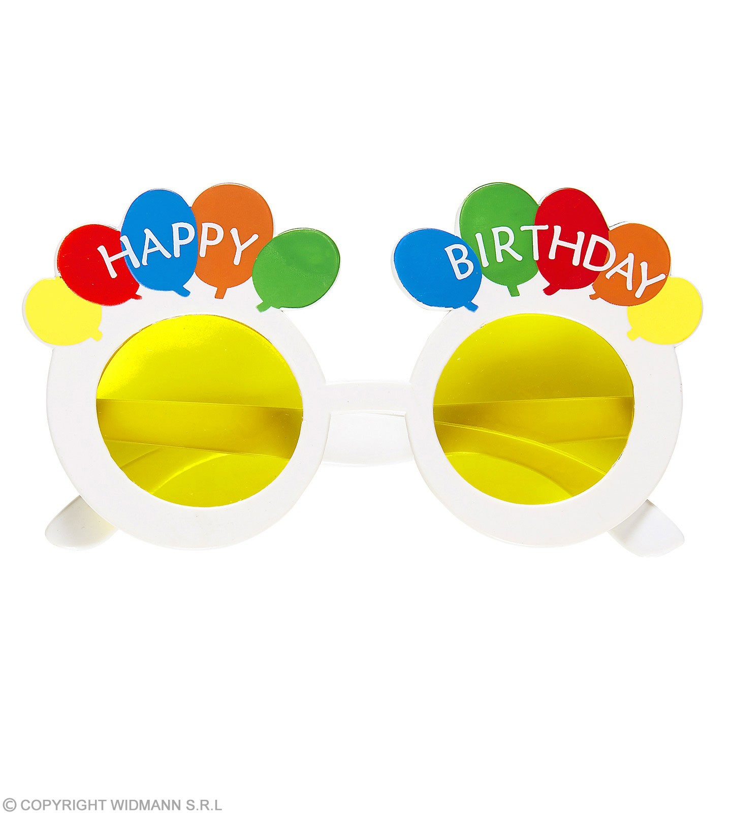 Adult Happy Birthday Glasses Fancy Dress Accessory