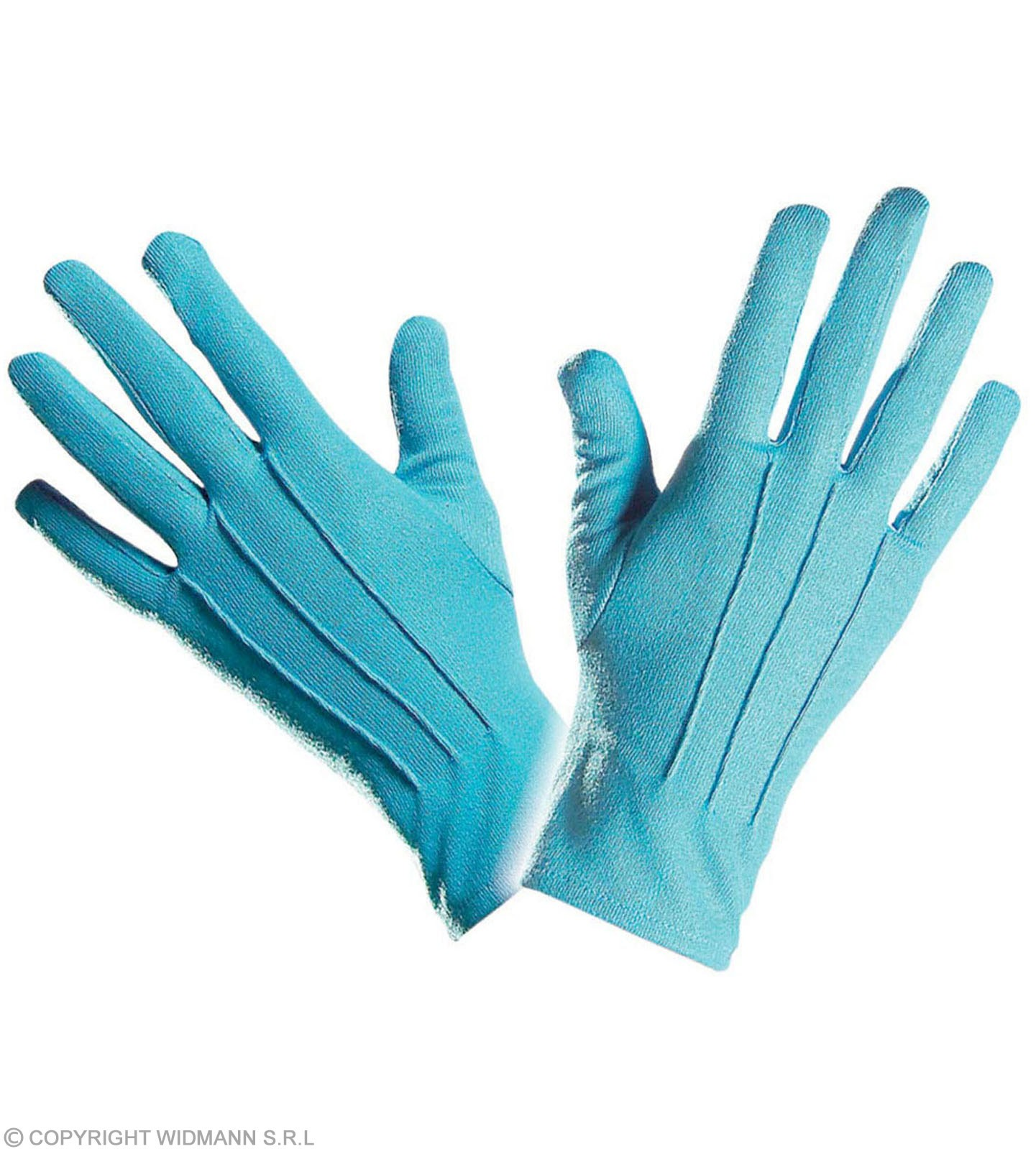 Gloves Short Turquoise - Fancy Dress