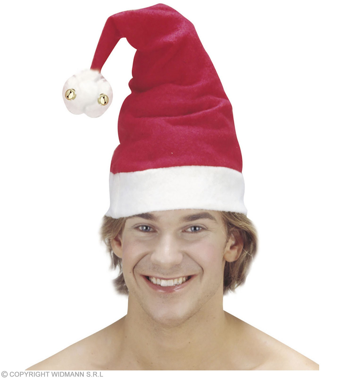 Santa Hat With Bells - Fancy Dress (Christmas)
