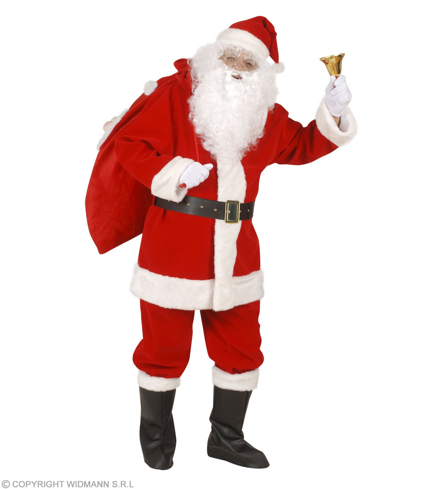 Xl Professional Santa Suit In Window Box Costume (Christmas)