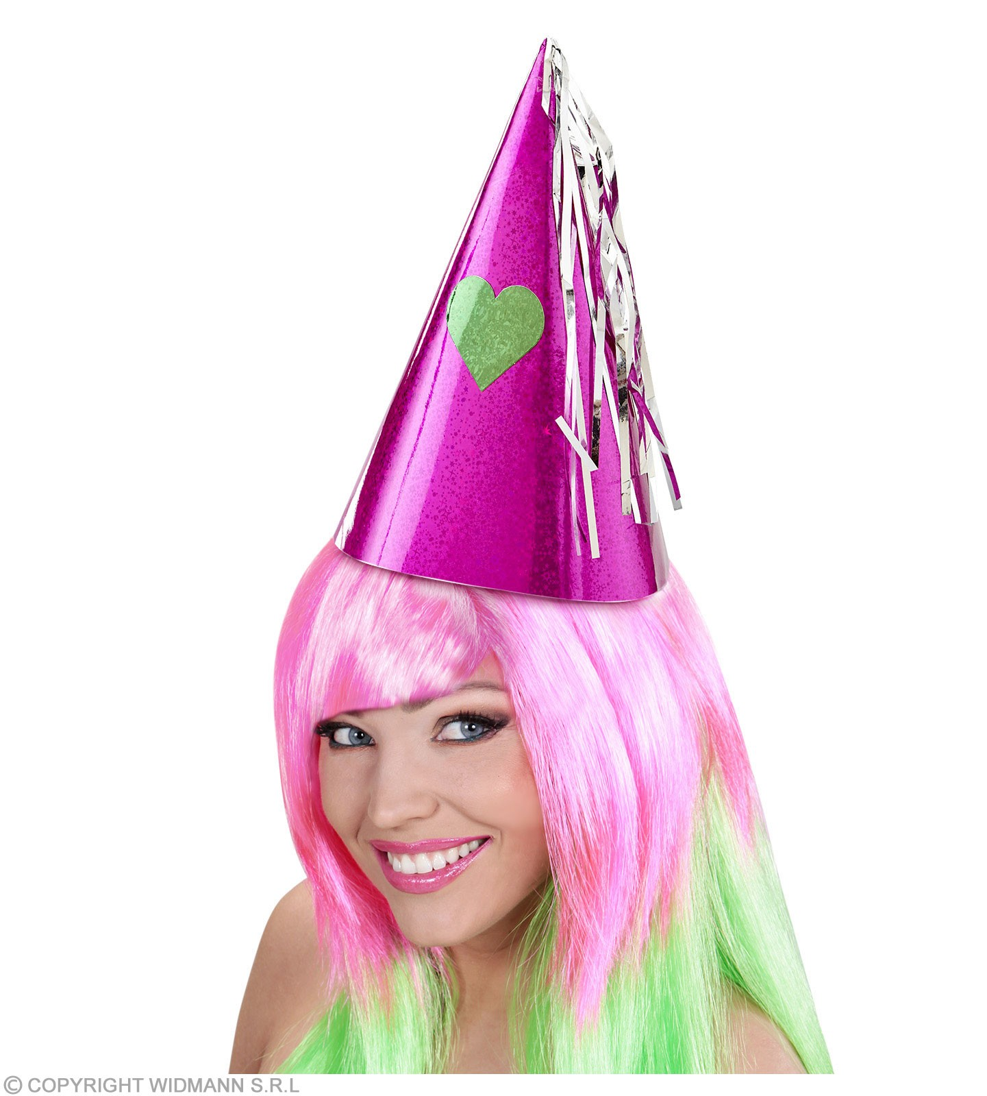 Holographic Party Set For 4 People - Fancy Dress