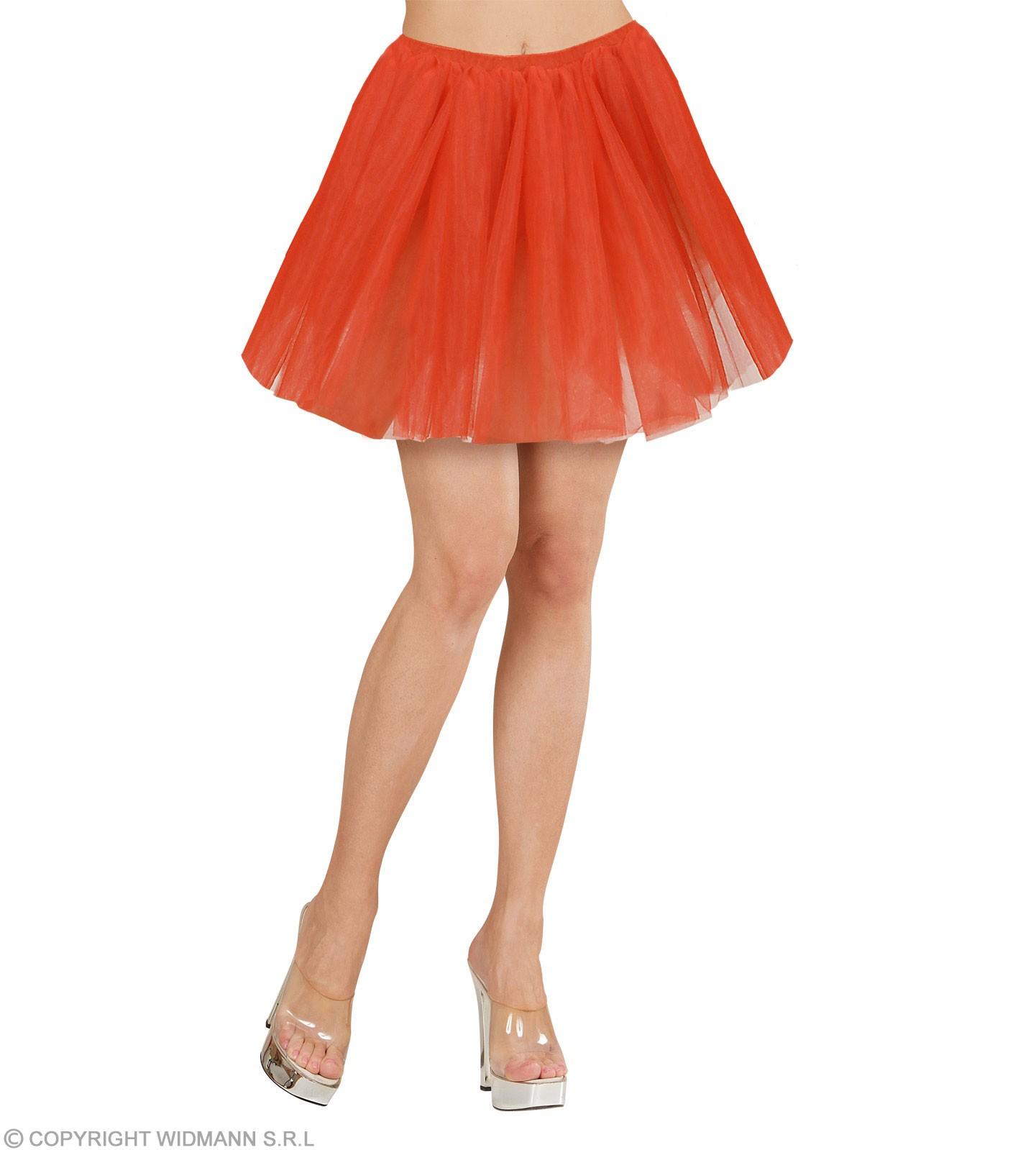 Tutu Adult Size - Red - Fancy Dress Ladies