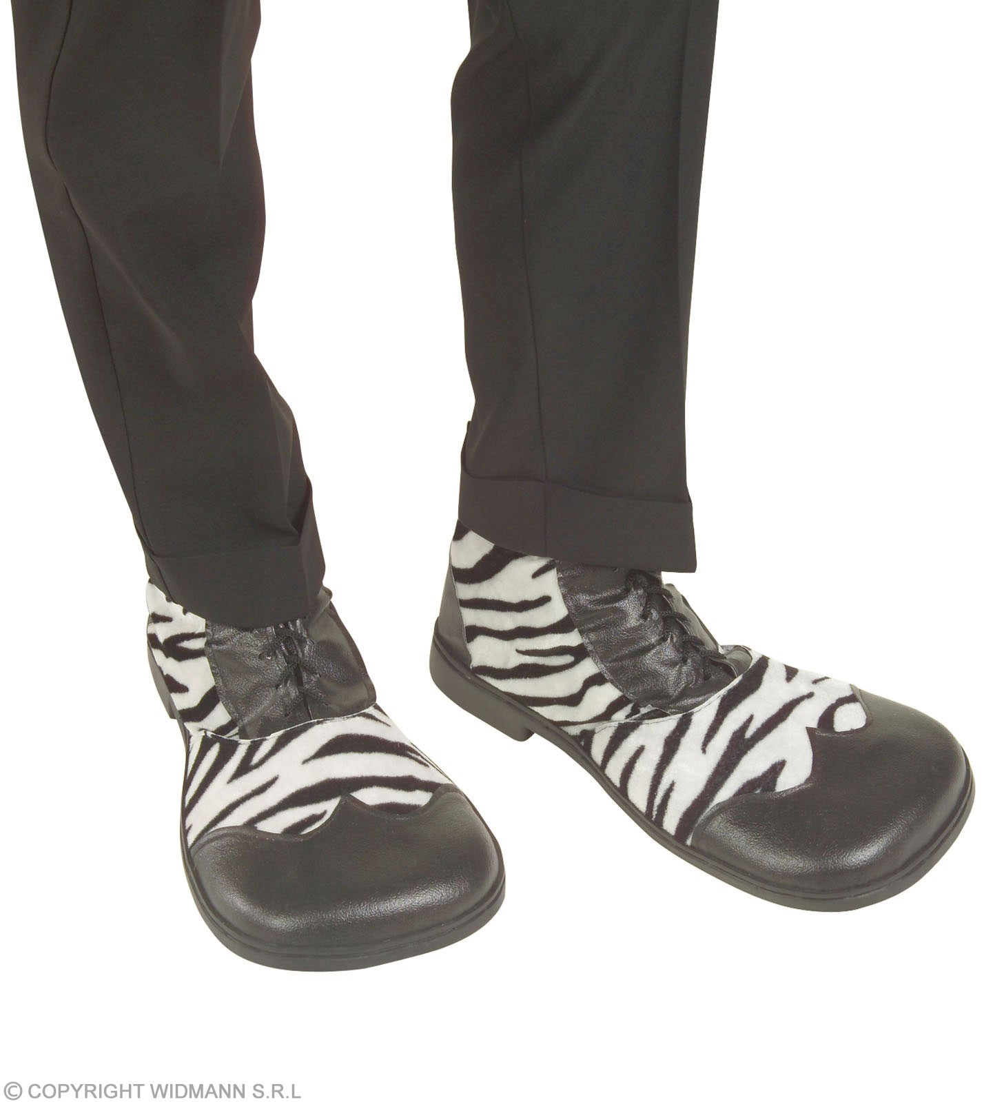 Party Shoes Zebra Design - Fancy Dress (Animals)