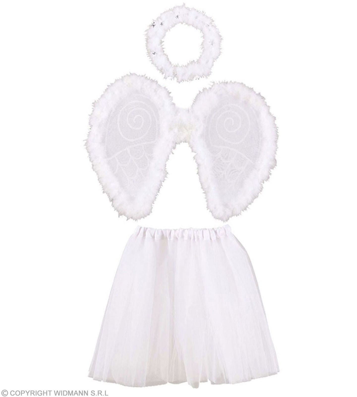 Angel Sets Tutu, Wings, Halo - Fancy Dress (Christmas)
