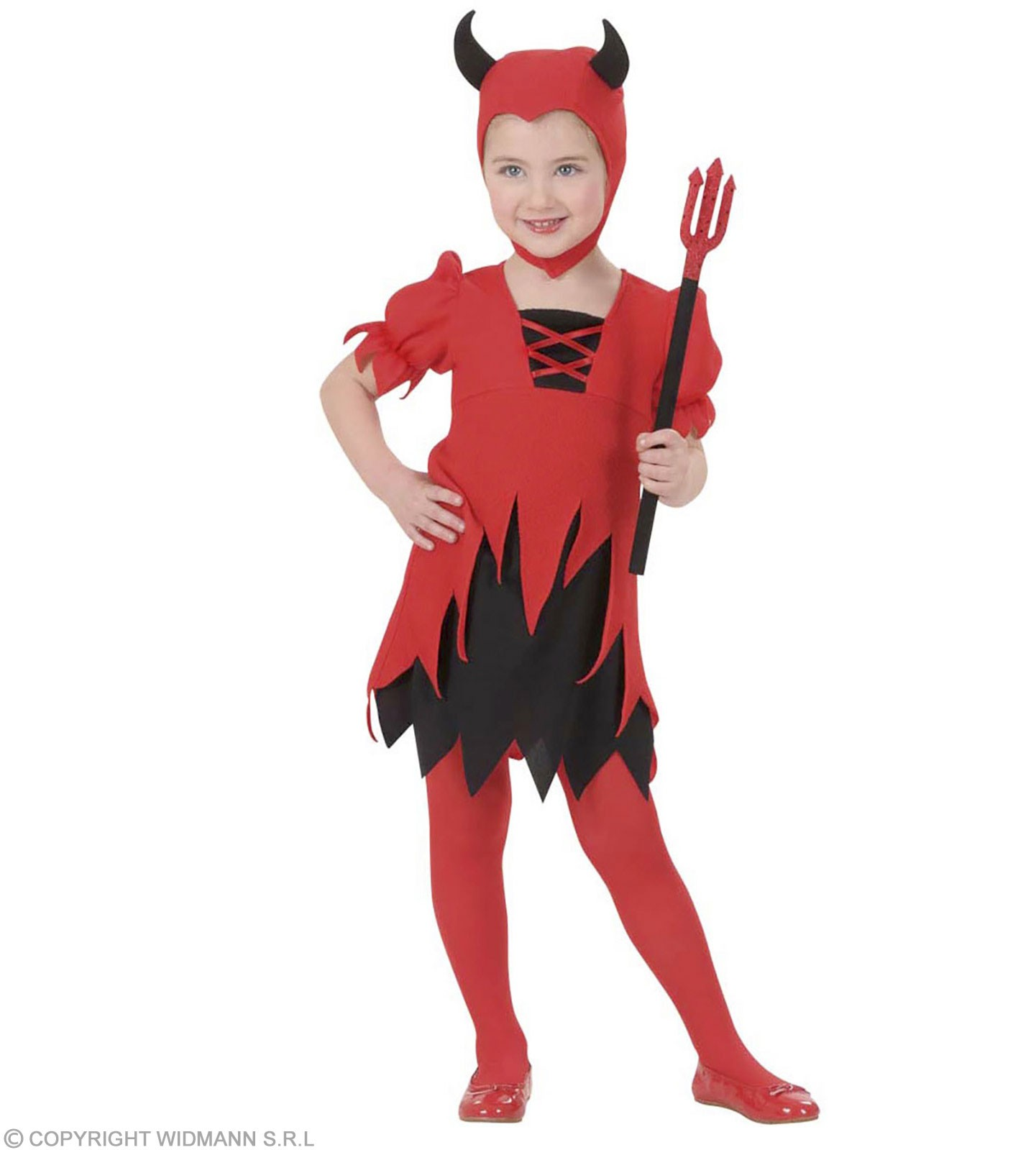 Lil Devil Toddler Costume Costume Kids Age 3-4 (Halloween)