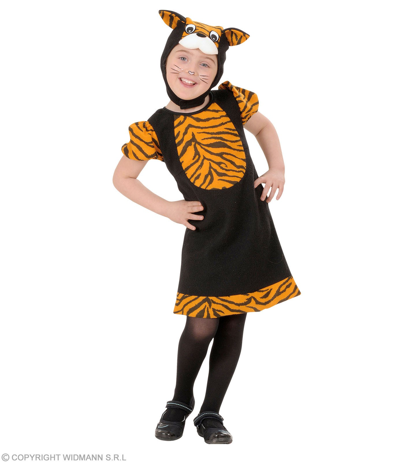 Tiger Toddler Costume Fancy Dress Costume Kids Age 3-4 (Animals)
