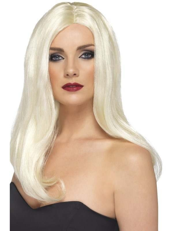 Alluring Wig - Fancy Dress Ladies - Blonde