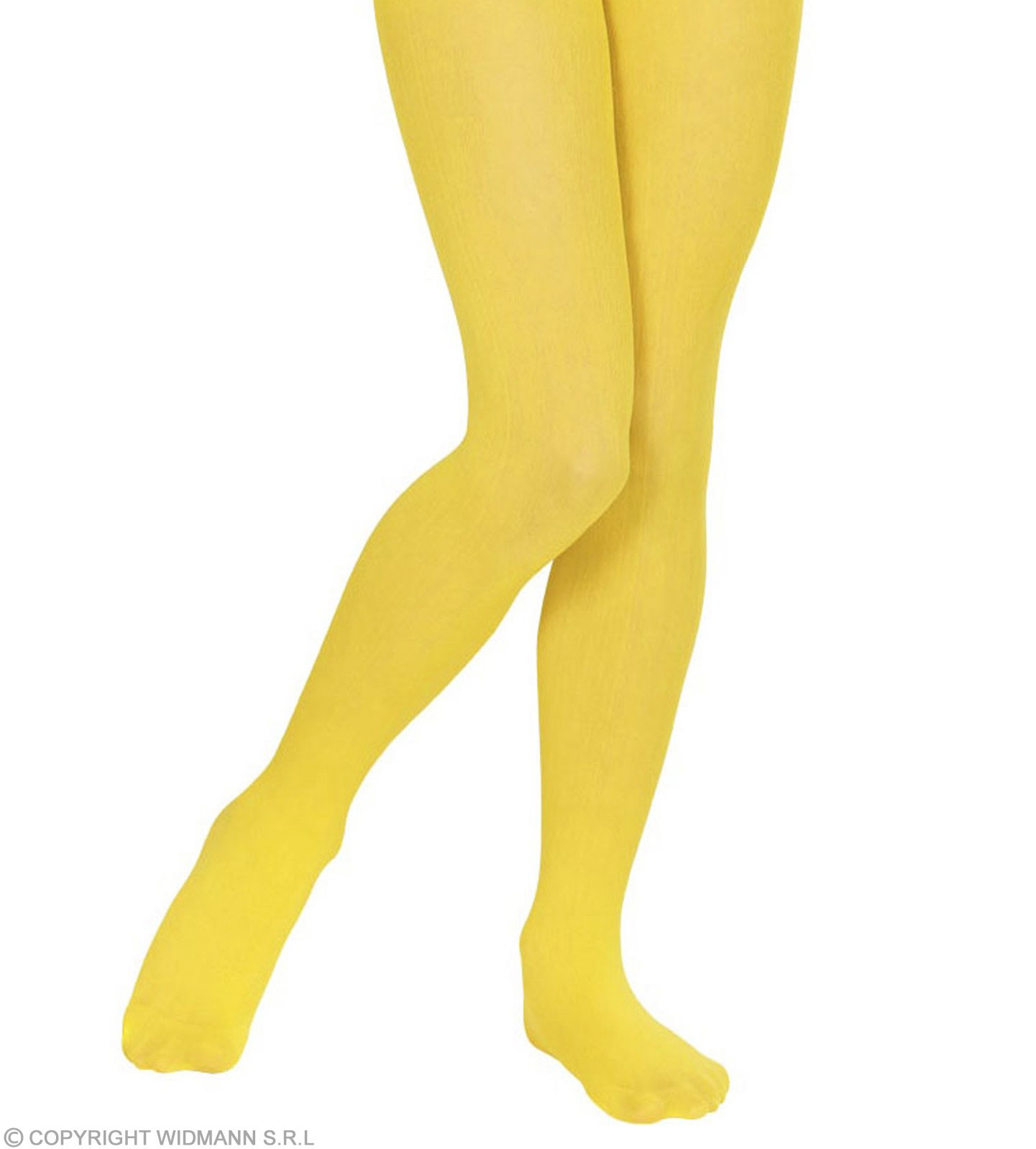 Pantyhose Child Sizes - Yellow - Fancy Dress Girls