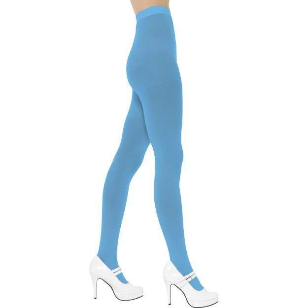 Blue Tights Ladies One Size