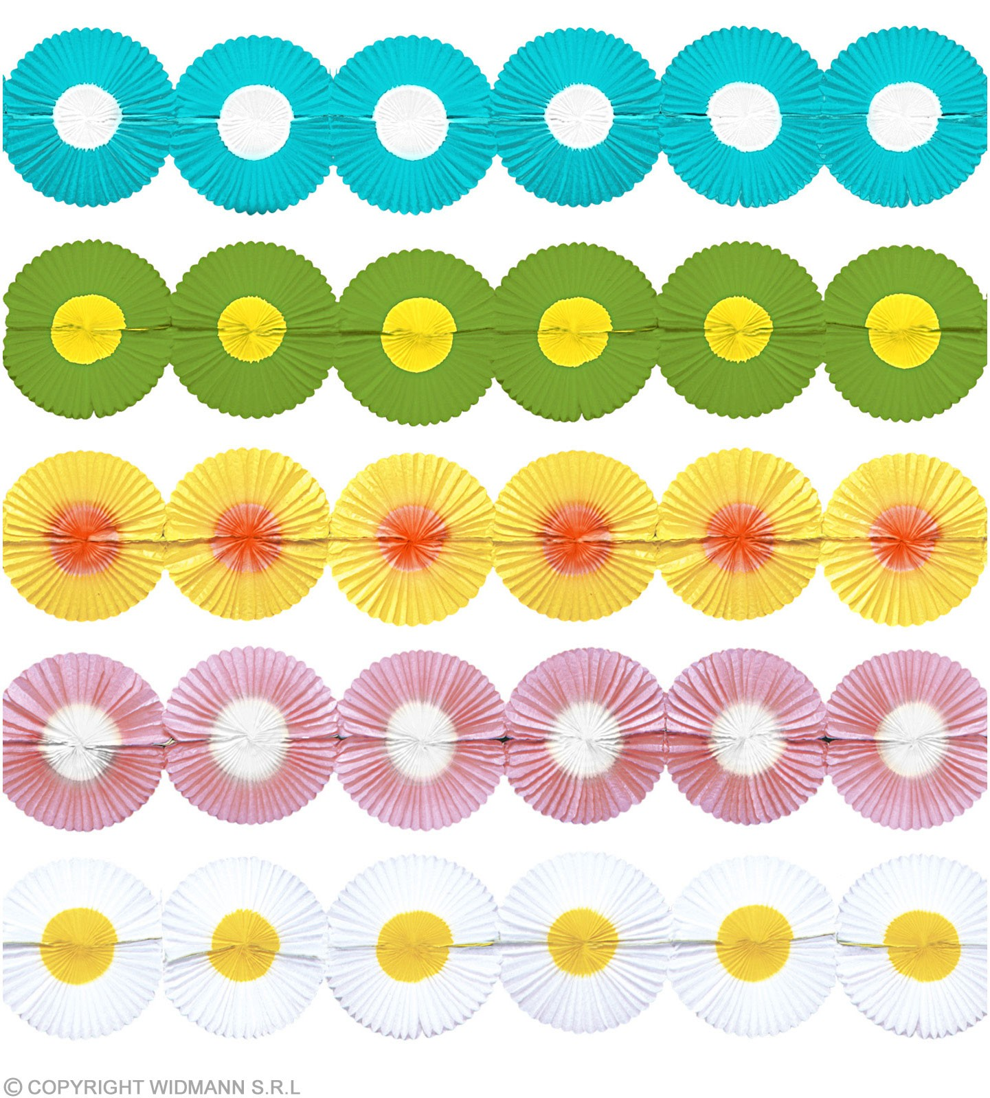Maxi Flower Paper Garland - Fancy Dress
