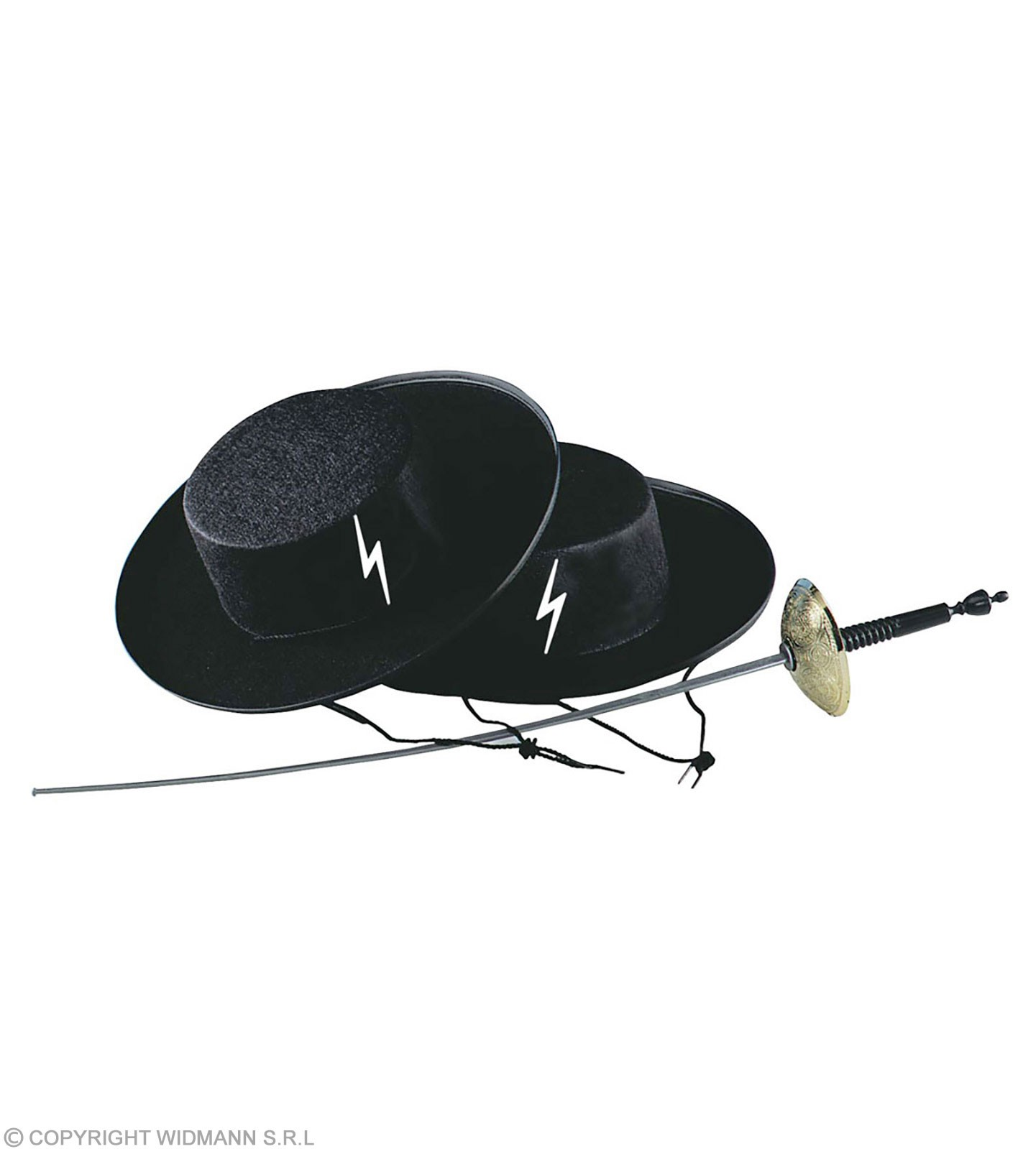 Felt Caballero Hat - Fancy Dress (Cultures)