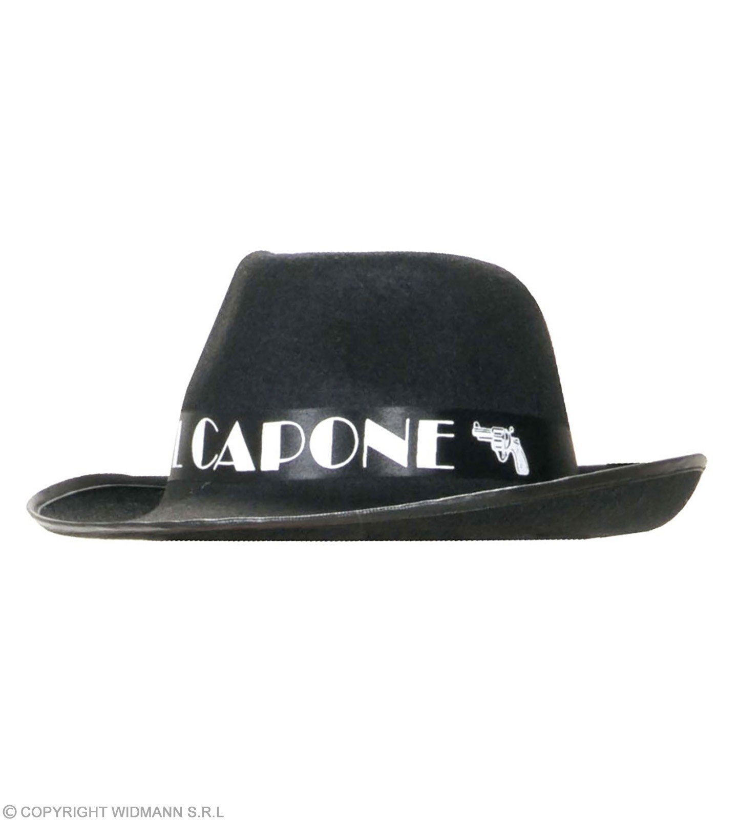 Al Capone Hat Felt - Fancy Dress