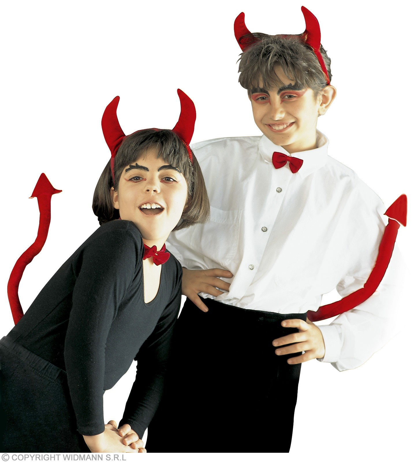 Devil Dress Up Set Unisex Child Fancy Dress Costume (Halloween)