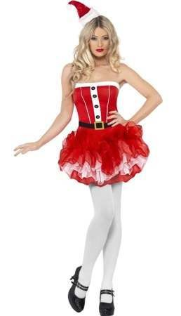 Ladies Santa Tutu With Dress