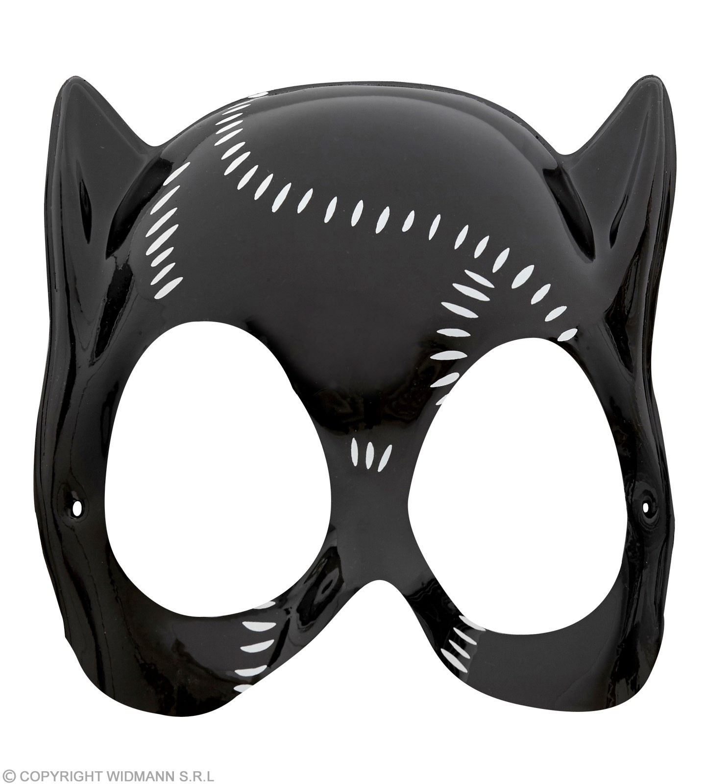 Catwoman Mask Plastic - Fancy Dress Ladies