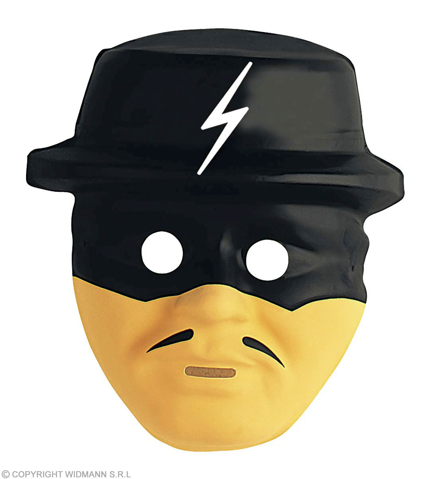 Child Plastic Bandit Hero Masks Fancy Dress