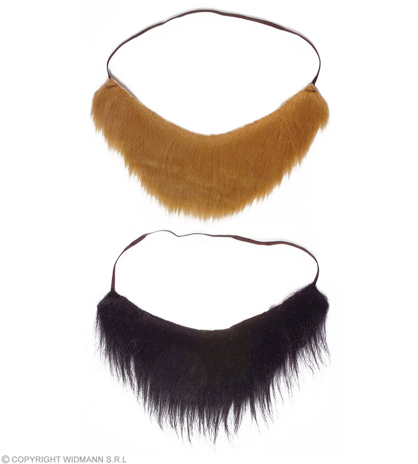 Pirate Beard 2Colours - Fancy Dress (Animals)