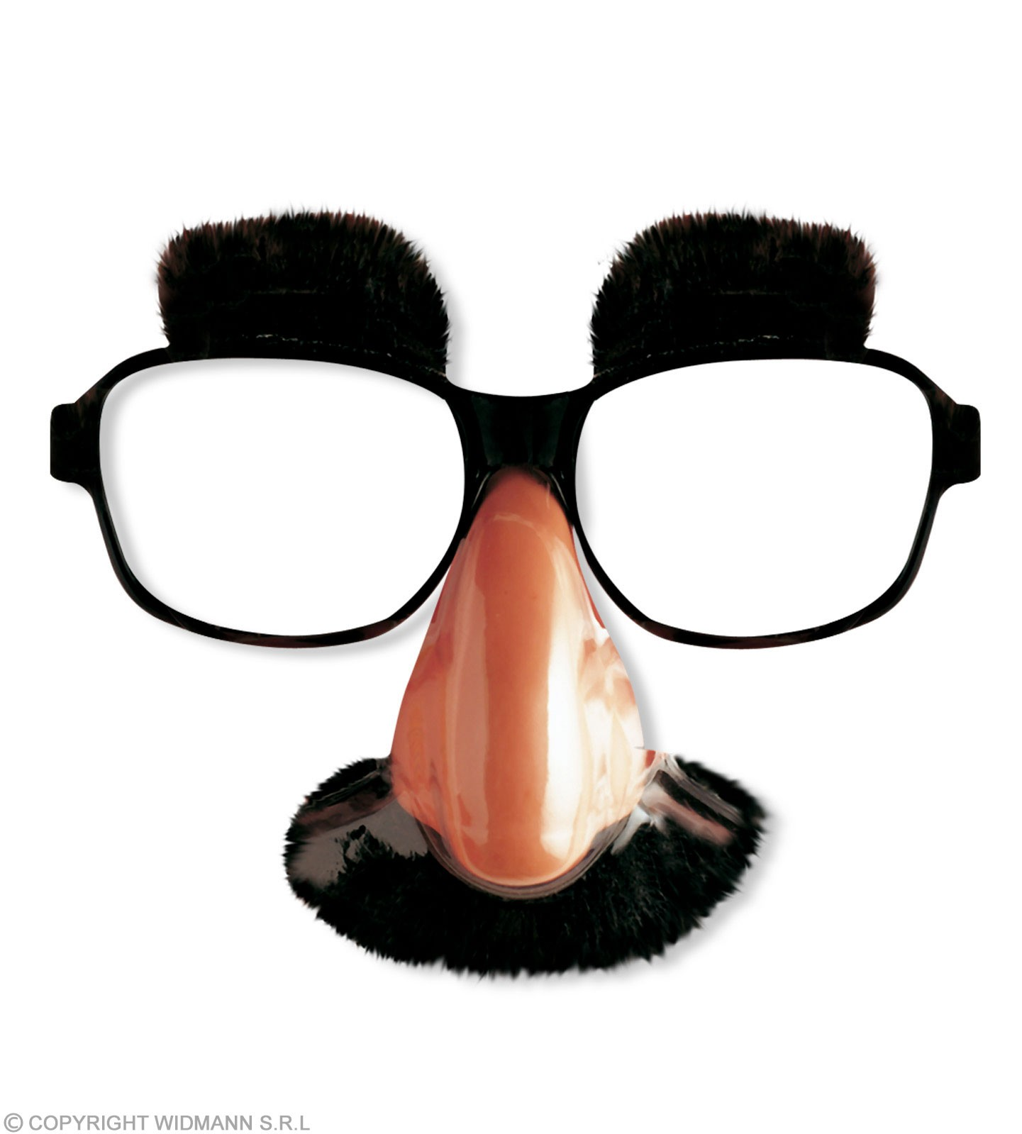 Glasses With Nose & Moustache - Fancy Dress
