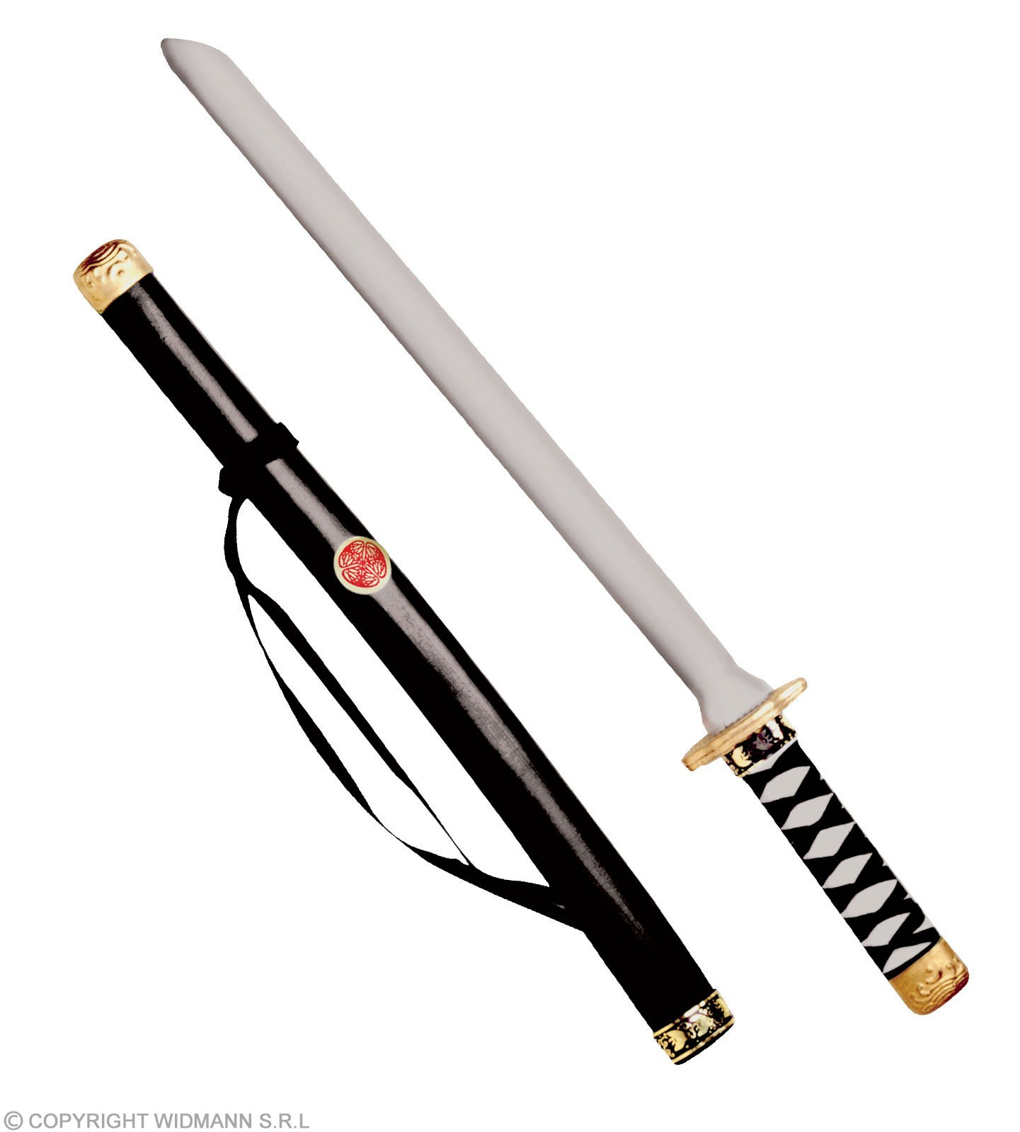 Japanese Katana W/Scabbard 60Cm - Fancy Dress