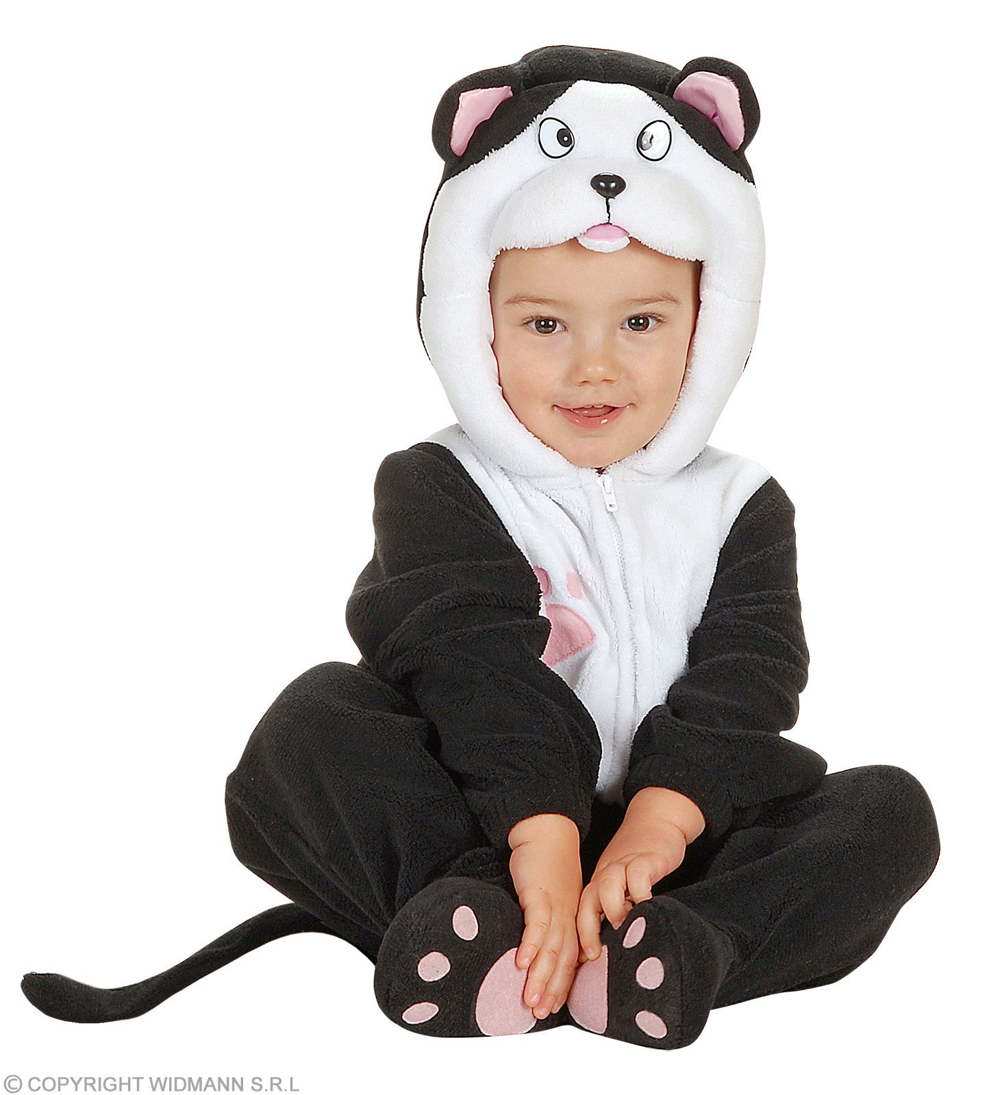 Cat With 90Cm - With Jumpsuit, Headpiece Fancy Dress