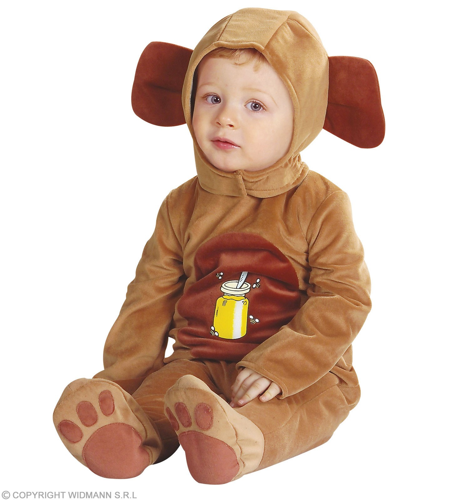 Baby Cutie Bear Fancy Dress Costume Age 1-2 (Animals)