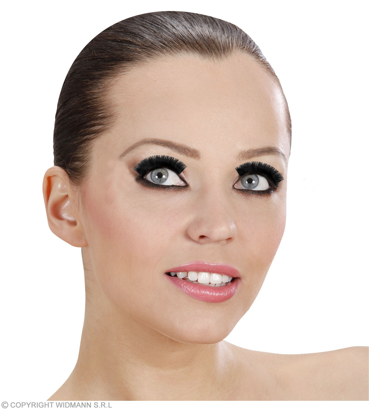 Eyelashes Long Black - Fancy Dress