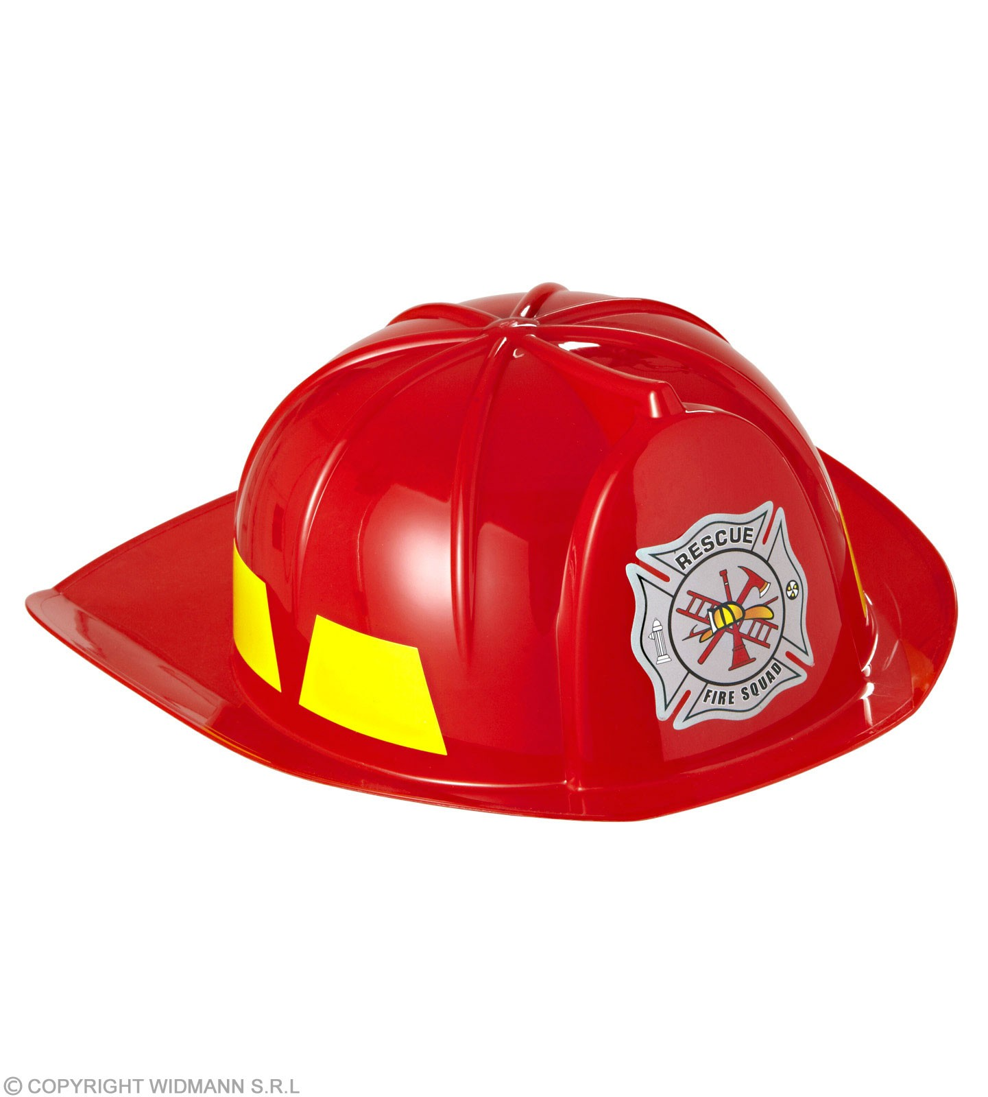 Hard Plastic Fireman Hat Childs- Fancy Dress (Fire Service)