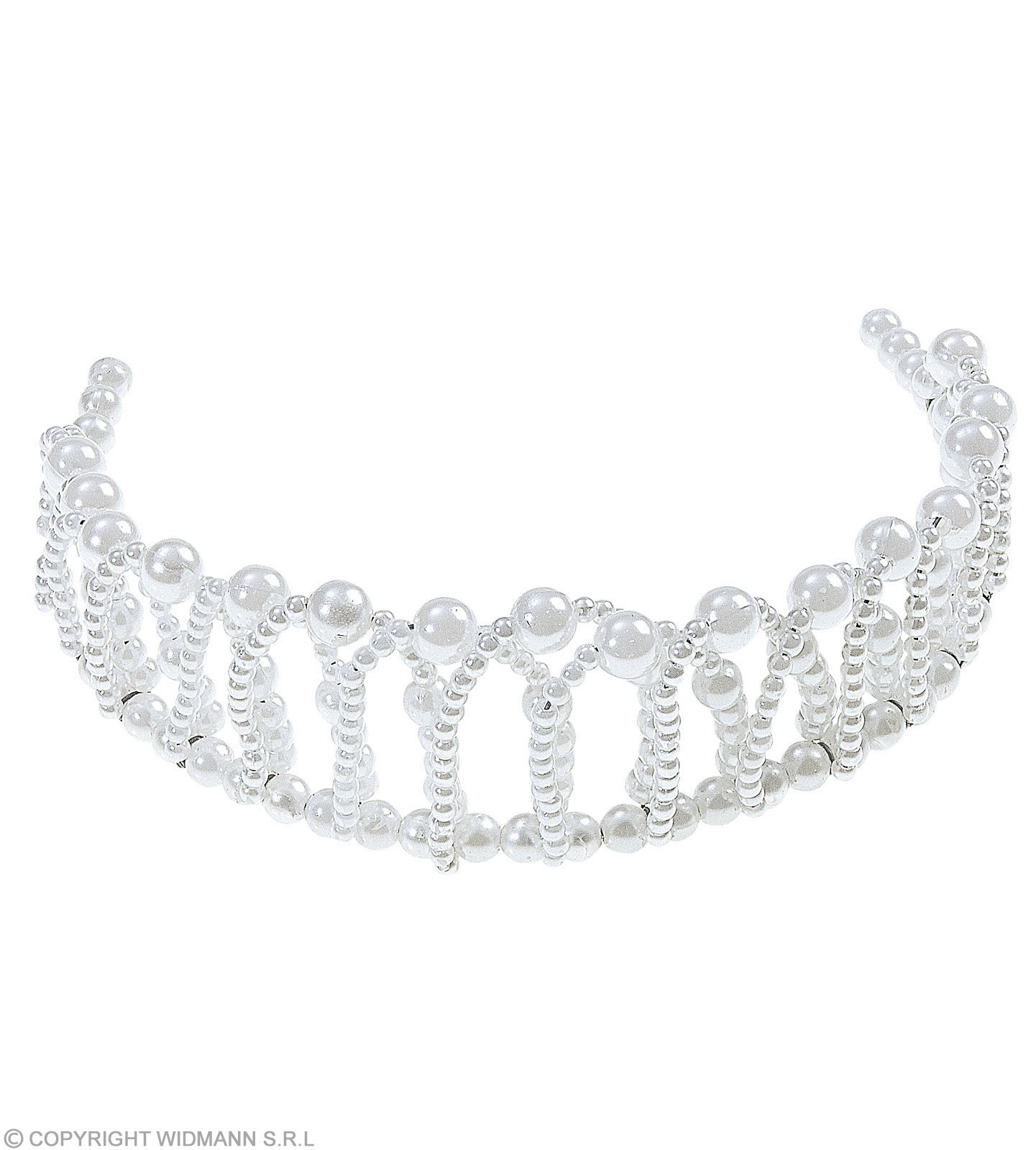 Bendable Pearl Crowns - Fancy Dress