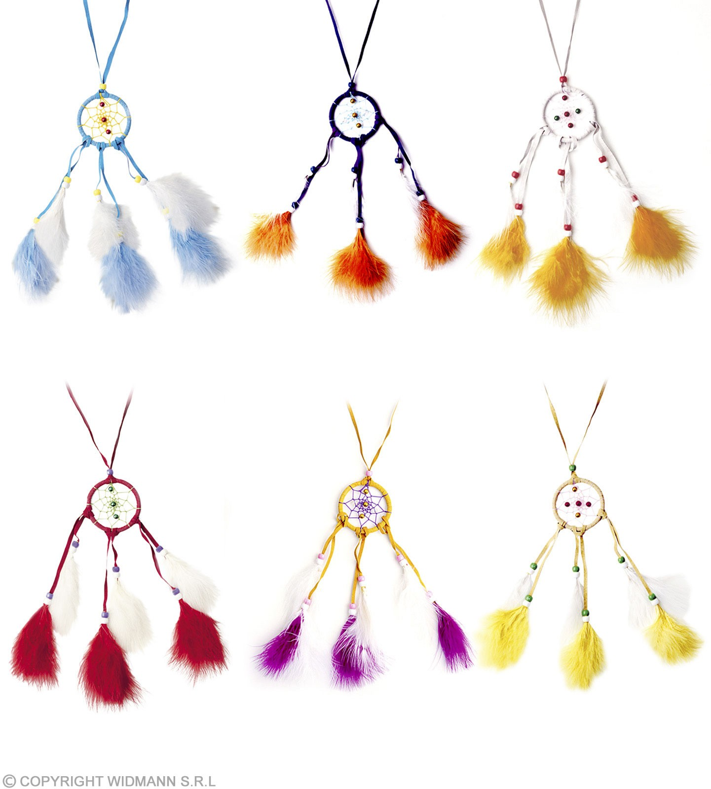 Dreamcatcher Necklace Feathered - Fancy Dress