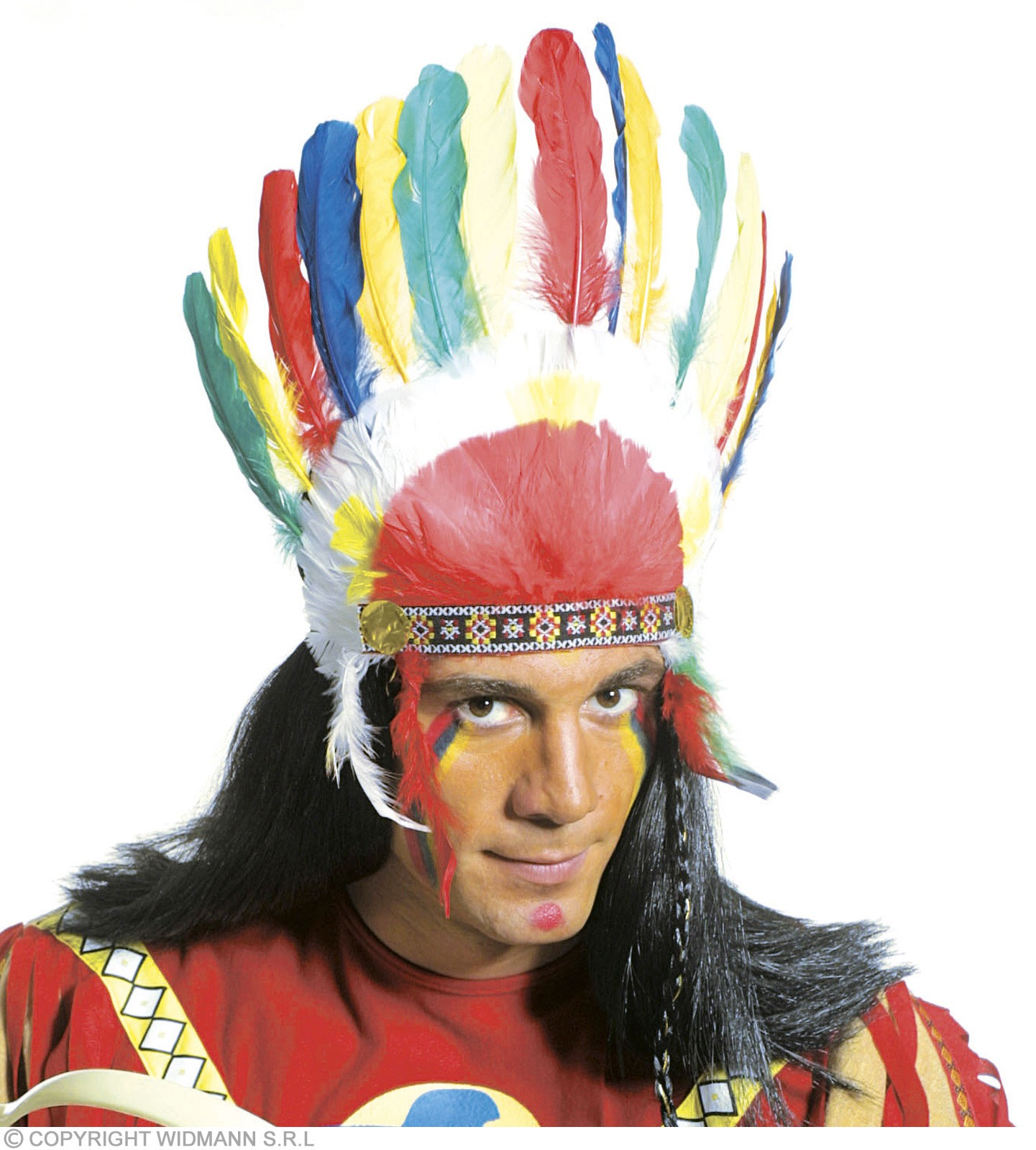 Native American Headgear - Fancy Dress (Cowboys/Native Americans)