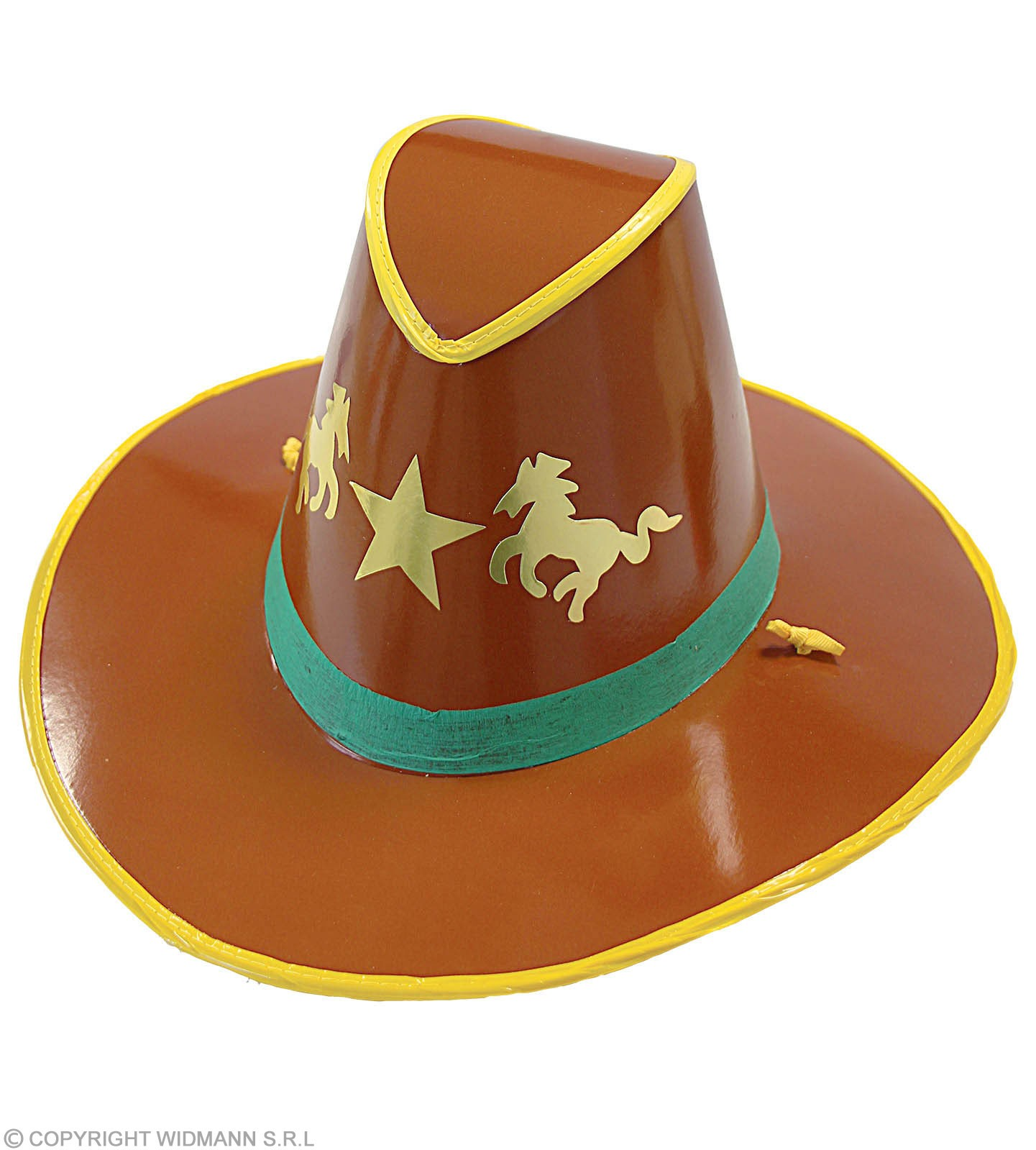 Cowboy Hat Cardboard - Fancy Dress (Cowboys/Native Americans)