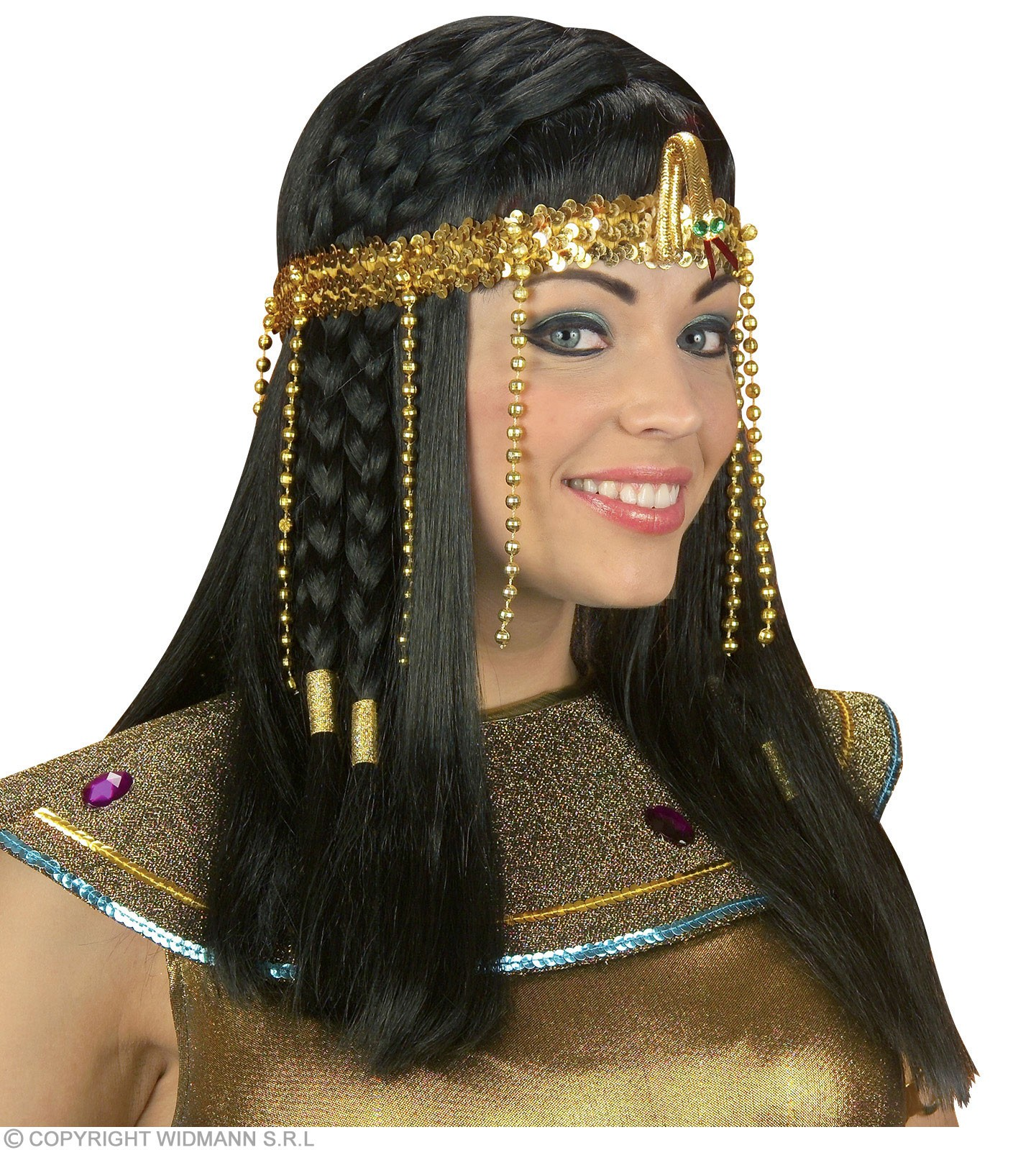 Egyptian Headress Beaded - Fancy Dress