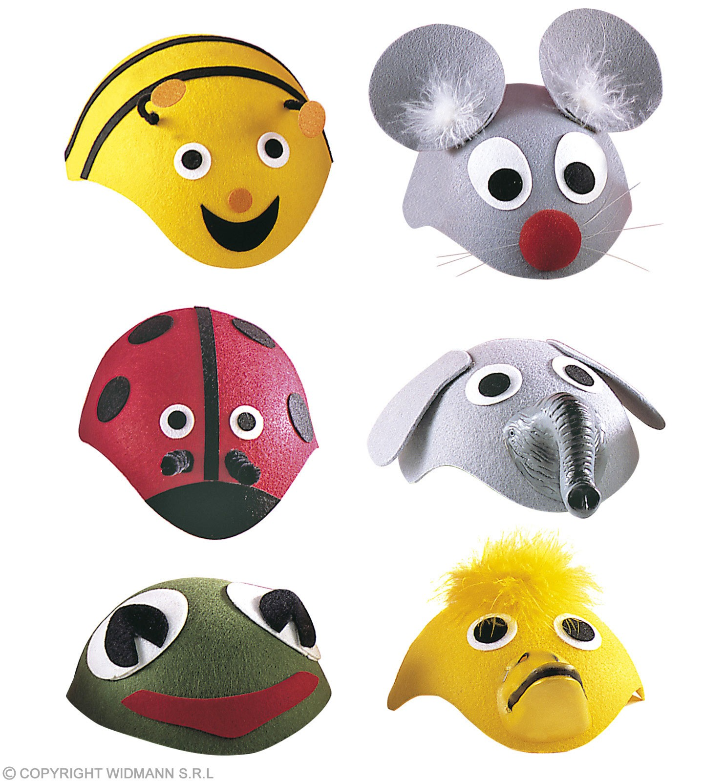 Little Animal Cap 6 Styles - Fancy Dress (Animals)
