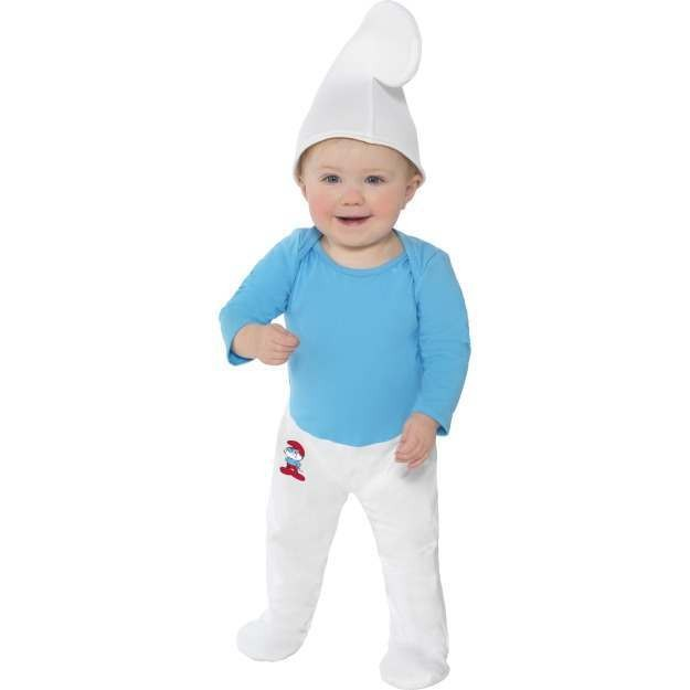 Baby Smurf Fancy Dress Costume (Cartoon)