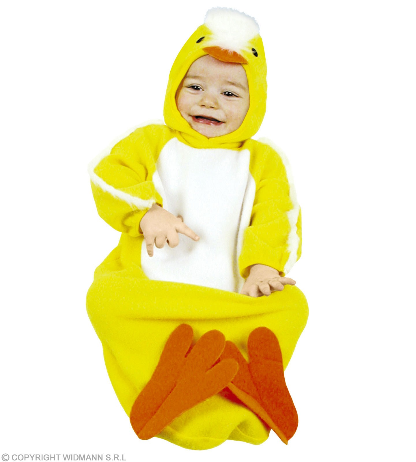 Baby Bunting Chick Fancy Dress Costume 0-9 Months