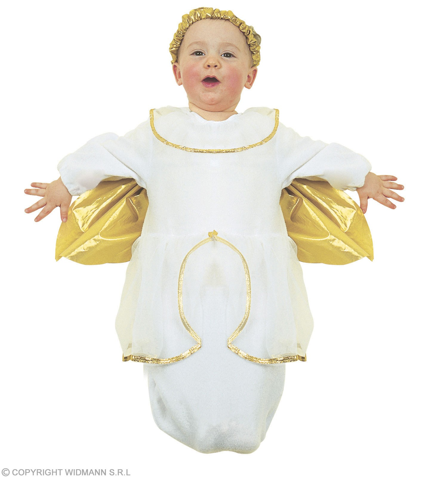Baby Bunting Angel Fancy Dress Costume 0-9 Months (Christmas)