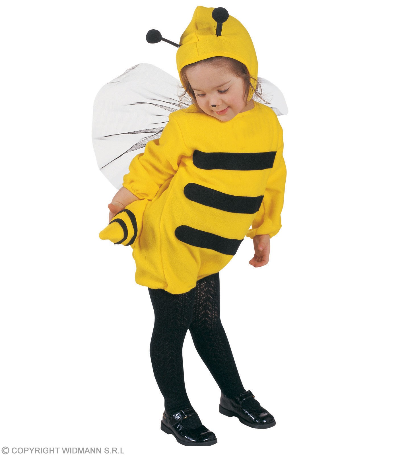 Bee & Jumpsuit & Headpiece, Soft & Cute Costume Age 2-3 (Animals)