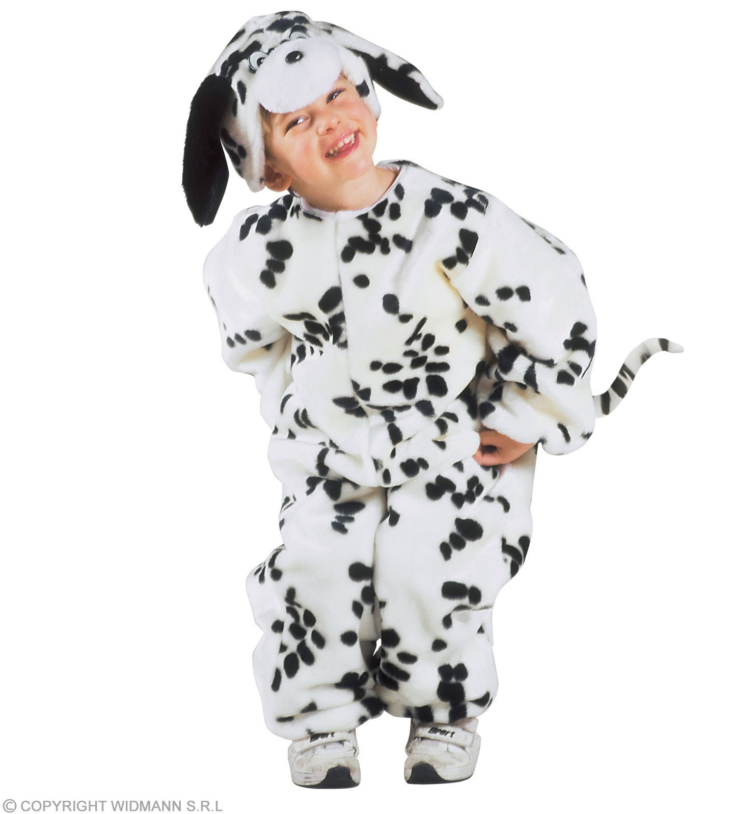 Plush Dalmatian - Jumpsuit, Headpiece  Kids Age 3-4 (Animals)