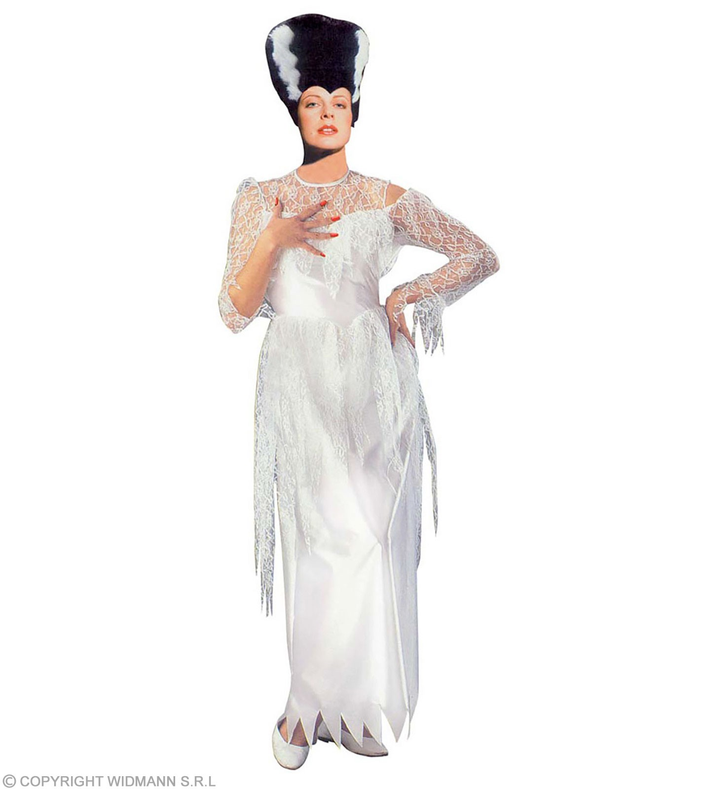 Halloween Queen,Teen Costume White (Halloween)