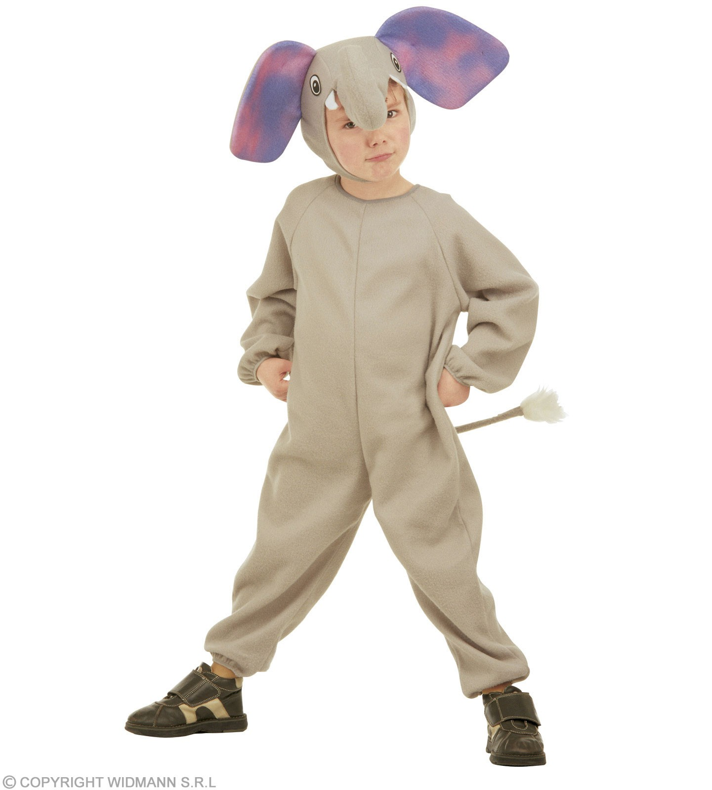 Elephant & Jumpsuit, Headpiece, Costume Age 2-3 (Animals)