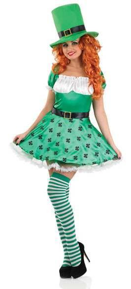 Sexy Irish Lady Leprechaun